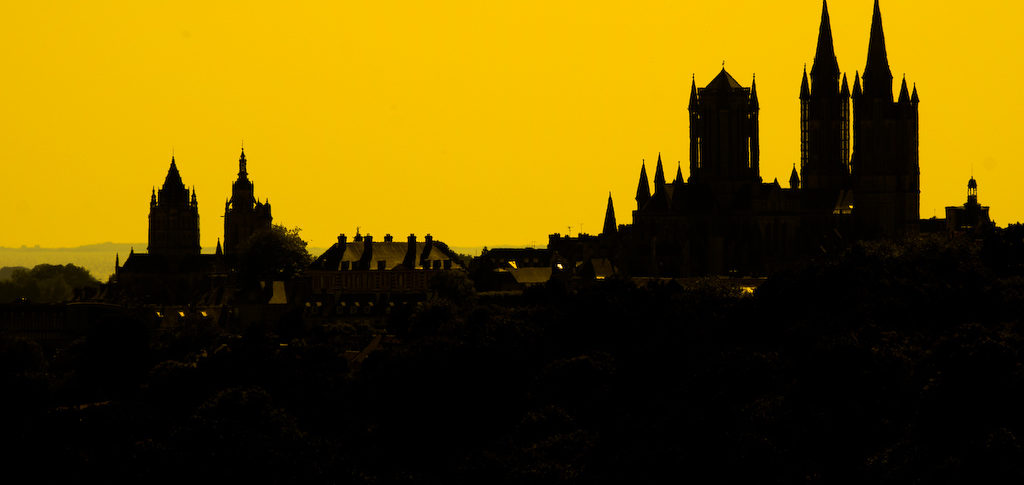 Cathédrale de Coutances (Manche).