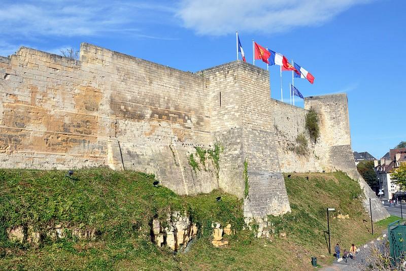 Château fort de Caen