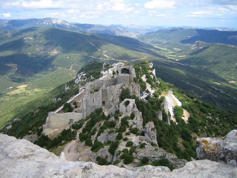 Château fort de Peyrepertuse