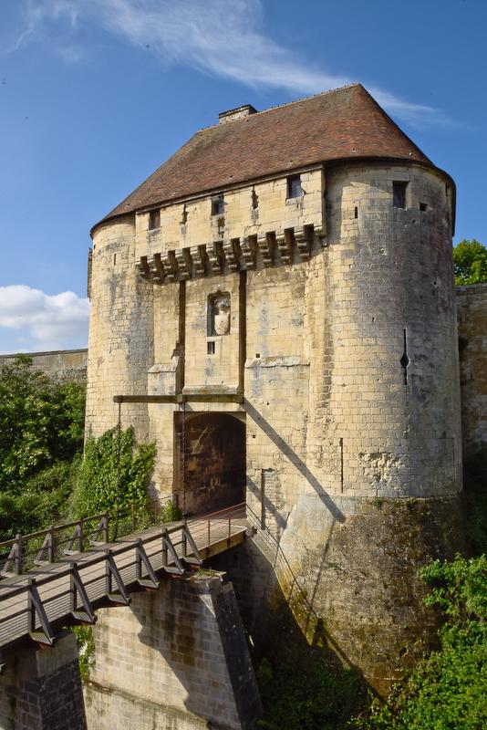 porte du château de Caen