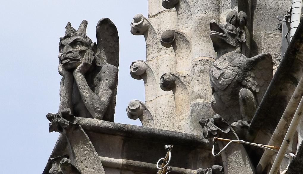stryge de Notre Dame de Paris