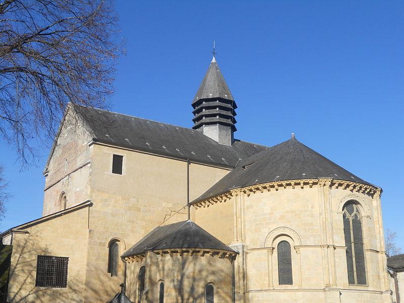 Cathédrale de Lescar (Gers).