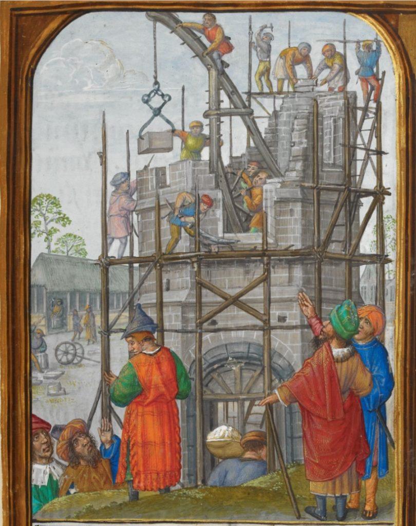 Tour de Babel en construction