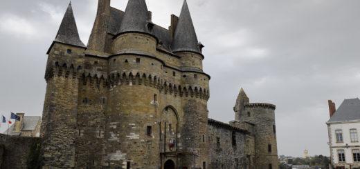 La porte monumentale du château de Vitré