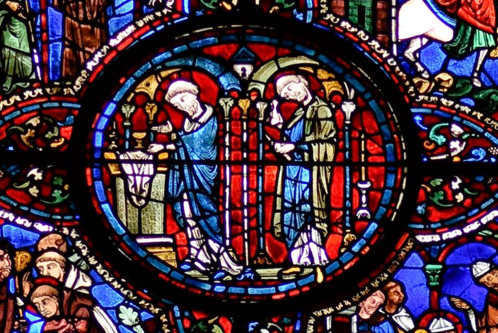 Vitrail de saint Lubin