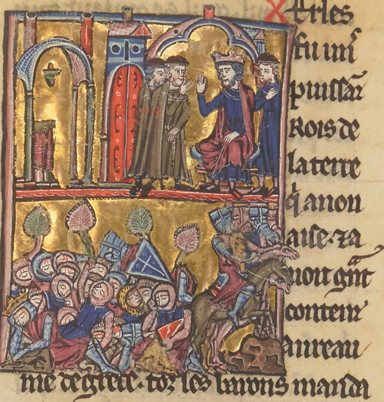 hugues de Payns et bataille de croisés